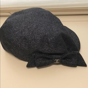 CHANEL Accessories - 100% authentic Chanel newsboy hat